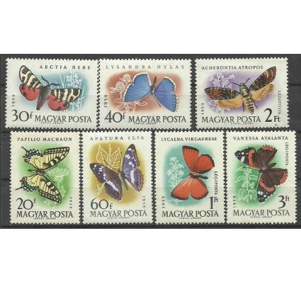 Znaczek Węgry 1959 Mi 1633-1639 Czyste **