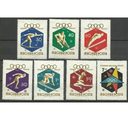 Znaczek Węgry 1960 Mi 1668-1674 Czyste **