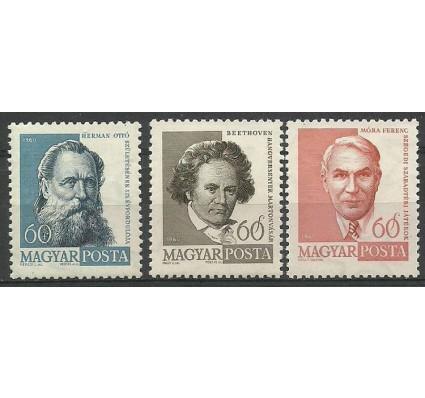 Znaczek Węgry 1960 Mi 1683-1685 Czyste **