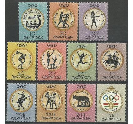 Znaczek Węgry 1960 Mi 1686-1696 Czyste **
