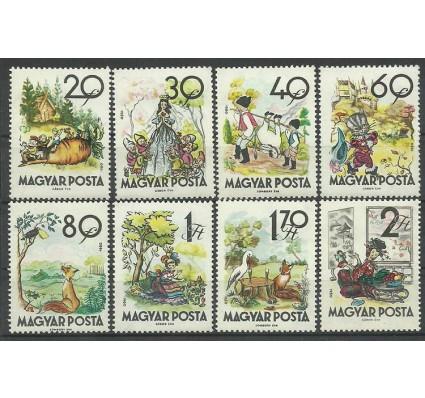 Znaczek Węgry 1960 Mi 1718-1725 Czyste **