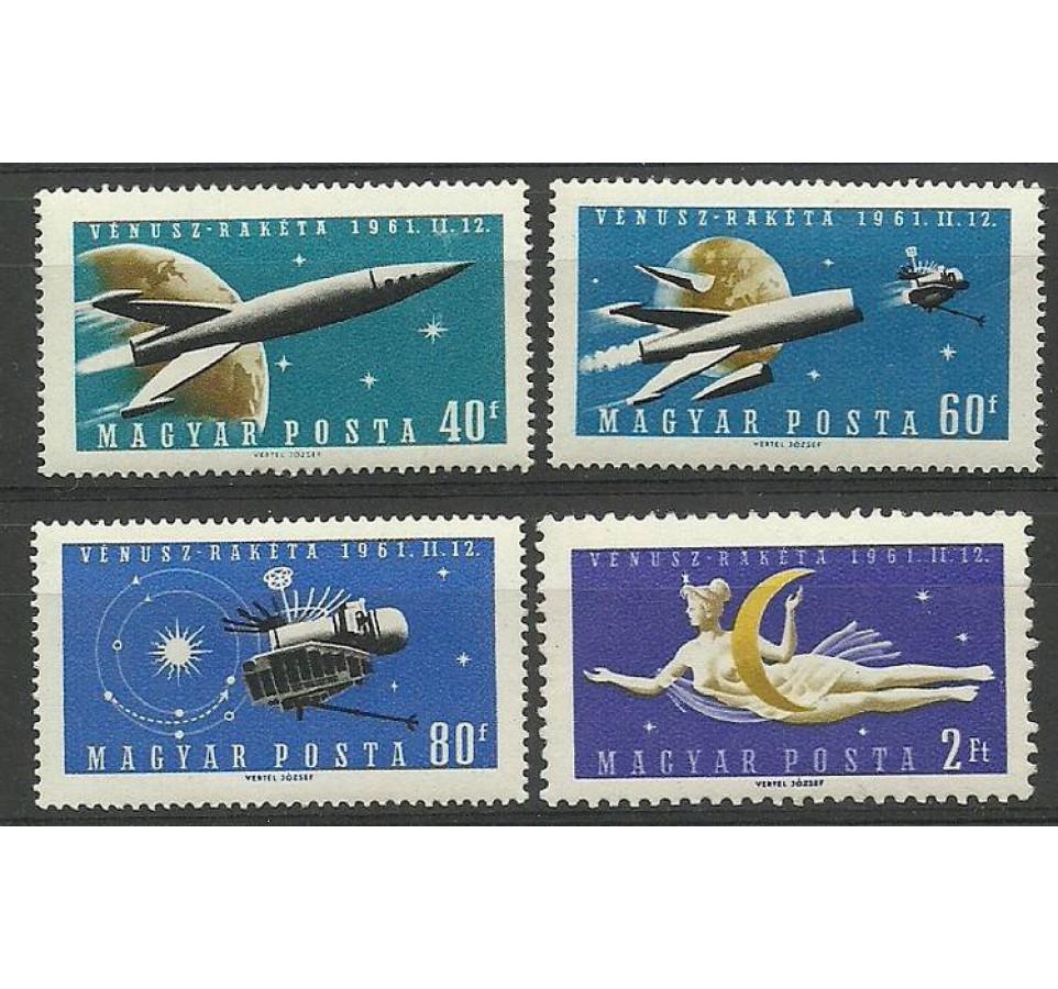 Węgry 1961 Mi 1758-1761 Czyste **