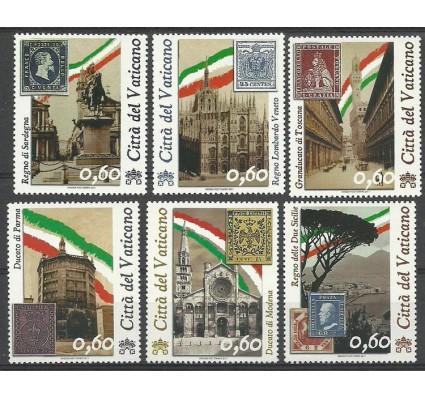 Znaczek Watykan 2011 Mi 1690-1695 Czyste **