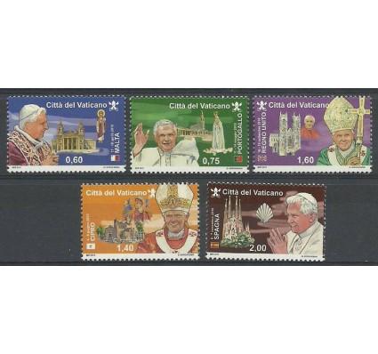 Znaczek Watykan 2011 Mi 1721-1725 Czyste **
