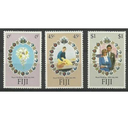 Znaczek Fidżi 1981 Mi 436-438 Czyste **