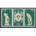 Fidżi 1978 Mi 372-374 Czyste **