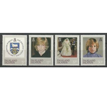 Znaczek Falklandy 1982 Mi 346-349 Czyste **