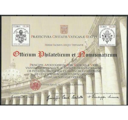 Znaczek Watykan 2012 Mi bl 39 Czyste **