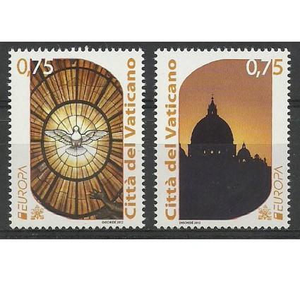 Znaczek Watykan 2012 Mi 1740-1741 Czyste **