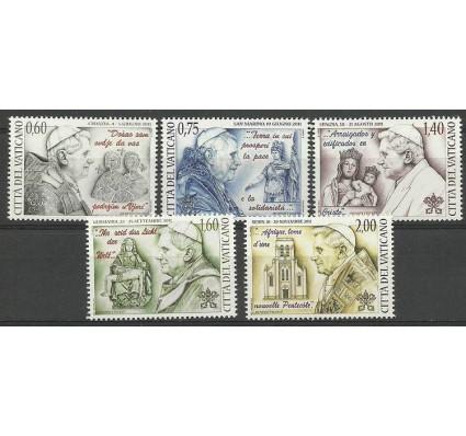 Znaczek Watykan 2012 Mi 1748-1752 Czyste **