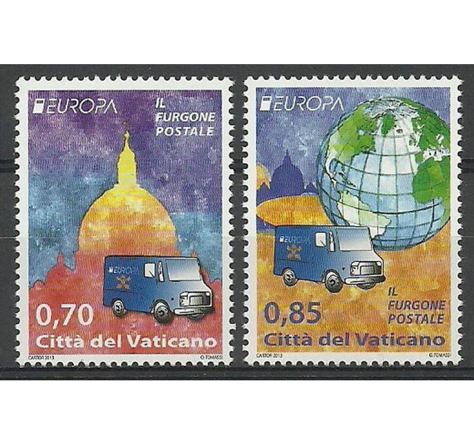 Watykan 2013 Mi 1772-1773 Czyste **