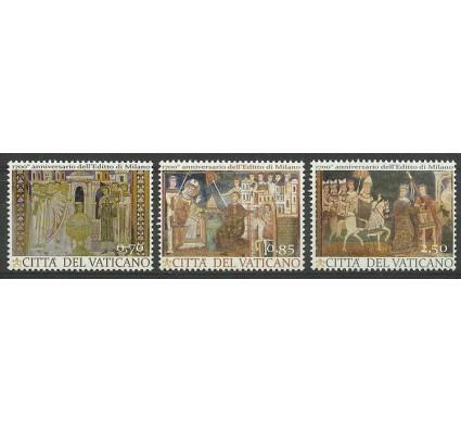 Znaczek Watykan 2013 Mi 1775-1777 Czyste **