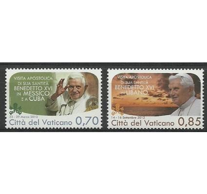 Znaczek Watykan 2013 Mi 1790-1791 Czyste **