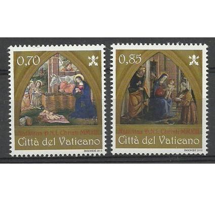 Znaczek Watykan 2013 Mi 1792-1793 Czyste **