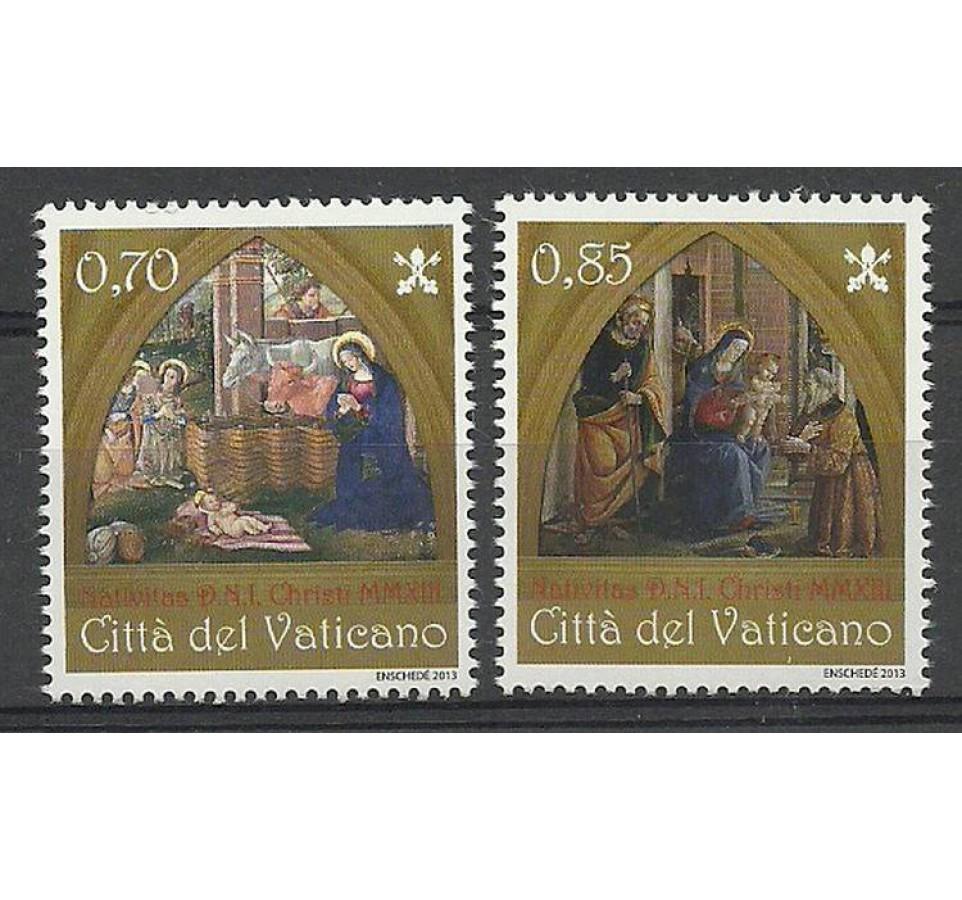Watykan 2013 Mi 1792-1793 Czyste **