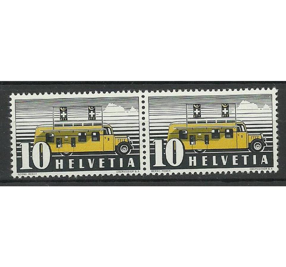Szwajcaria 1937 Mi 311II Czyste **