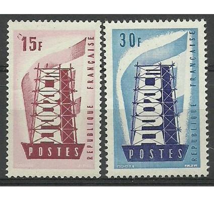 Znaczek Francja 1956 Mi 1104-1105 Czyste **