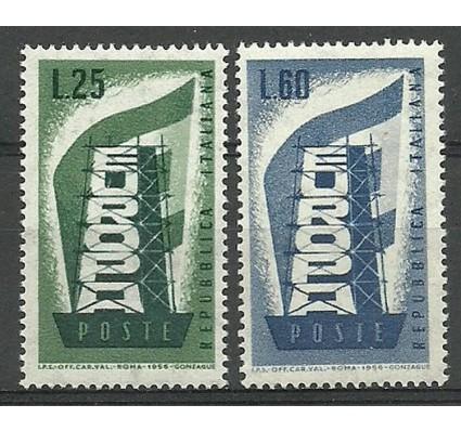 Znaczek Włochy 1956 Mi 973-974 Czyste **