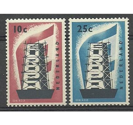 Znaczek Holandia 1956 Mi 683-684 Czyste **