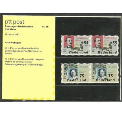 Znaczek Holandia 1987 Mi 1313-1314 Czyste **