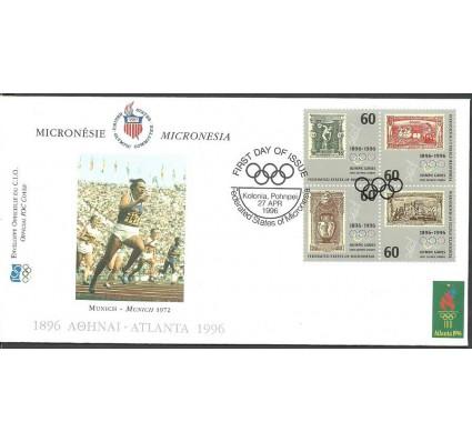 Znaczek Mikronezja 1996 Mi 494-497 FDC