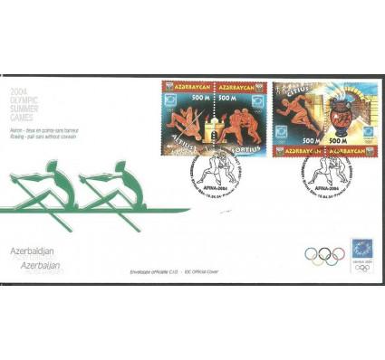 Znaczek Azerbejdżan 2004 Mi 576-579 FDC