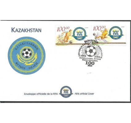 Znaczek Kazachstan 2004 Mi 468-469 FDC