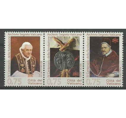 Znaczek Watykan 2012 Mi 1745-1747 Czyste **