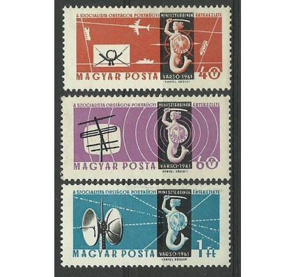 Znaczek Węgry 1961 Mi 1762-1764 Czyste **