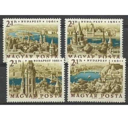 Znaczek Węgry 1961 Mi 1789-1792 Czyste **