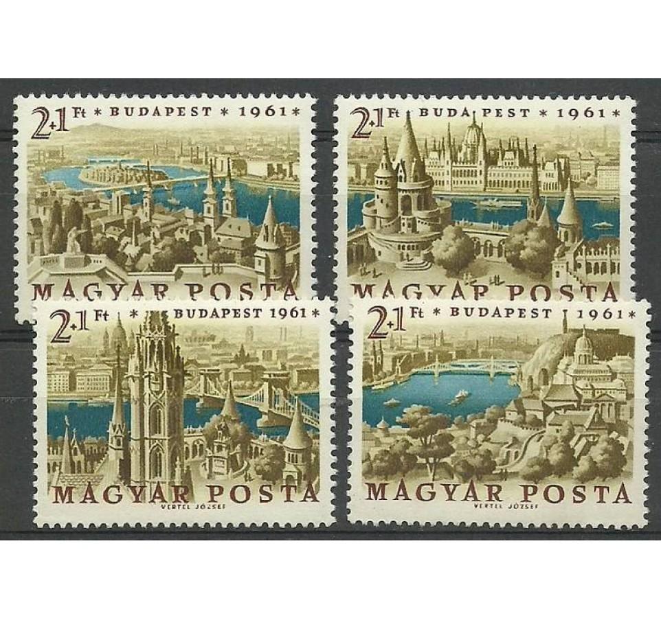 Węgry 1961 Mi 1789-1792 Czyste **