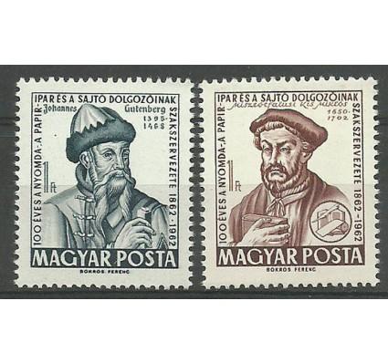 Znaczek Węgry 1962 Mi 1839-1840 Czyste **