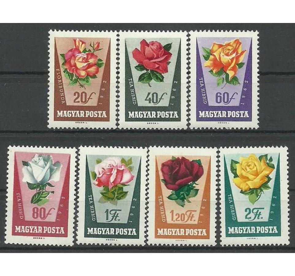 Węgry 1962 Mi 1856-1862 Czyste **