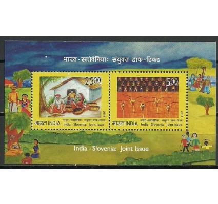 Znaczek Indie 2014 Mi bl 125 Czyste **