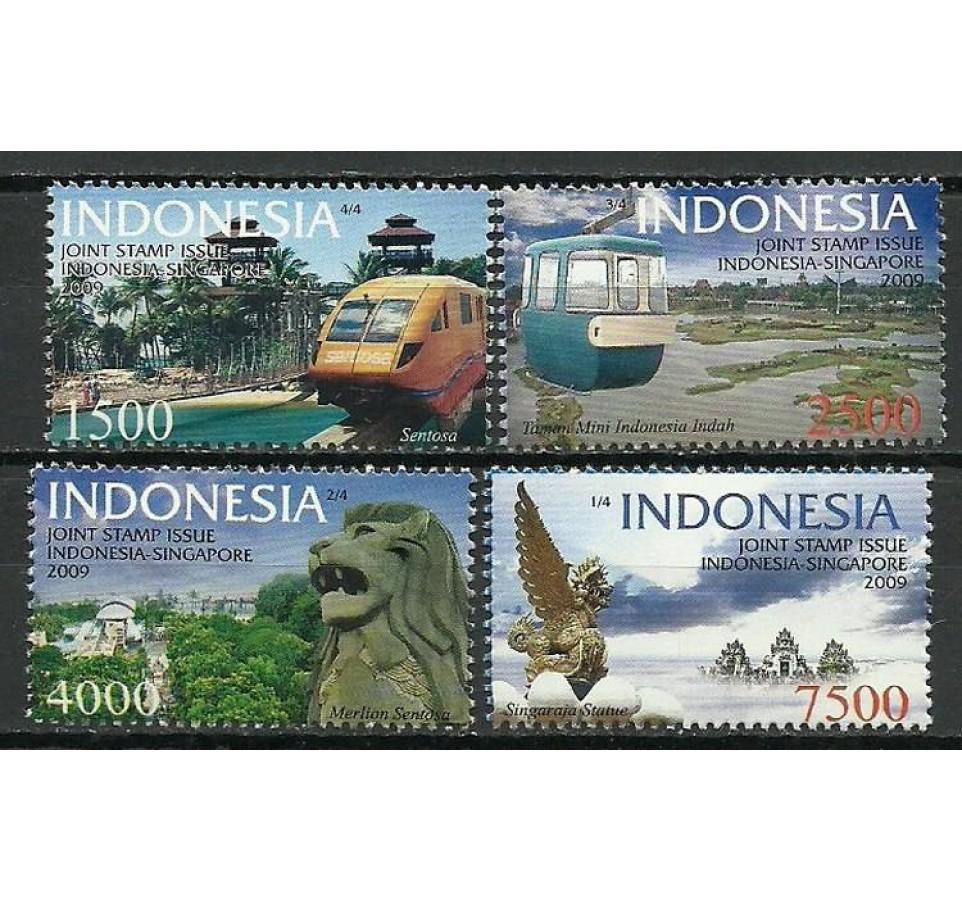 Indonezja 2009 Mi 2788-2791 Czyste **