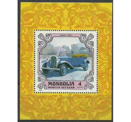 Znaczek Mongolia 1980 Mi bl 66 Czyste **