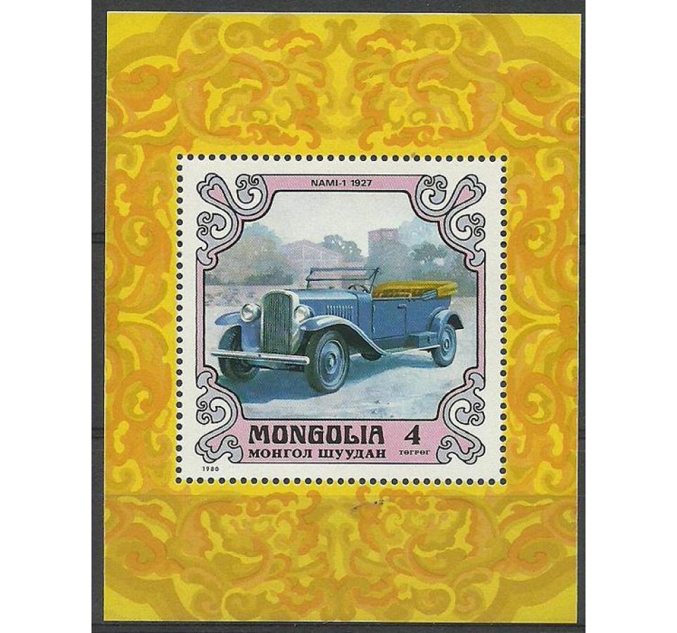 Mongolia 1980 Mi bl 66 Czyste **