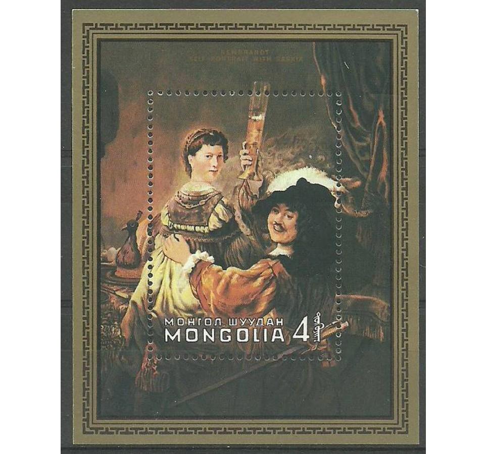 Mongolia 1981 Mi bl 74 Czyste **