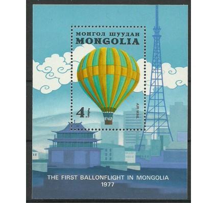 Znaczek Mongolia 1982 Mi bl 88 Czyste **