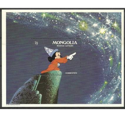 Znaczek Mongolia 1983 Mi bl 90 Czyste **