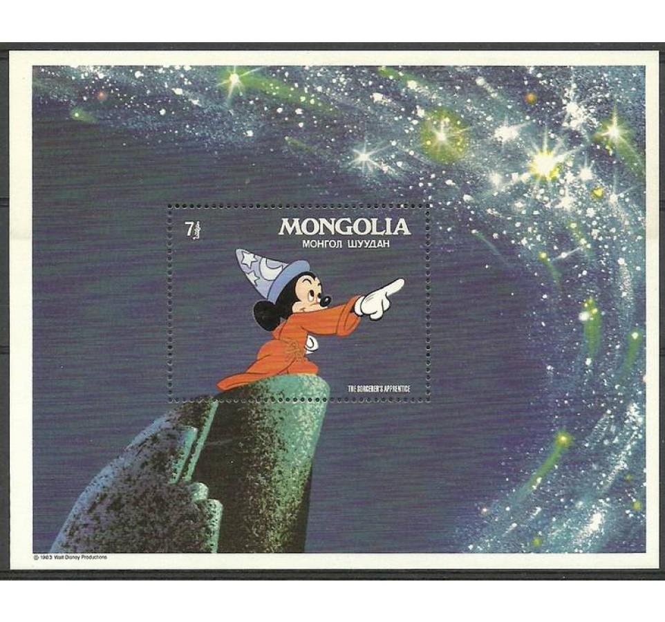 Mongolia 1983 Mi bl 90 Czyste **