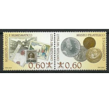 Znaczek Watykan 2007 Mi 1590-1591 Czyste **