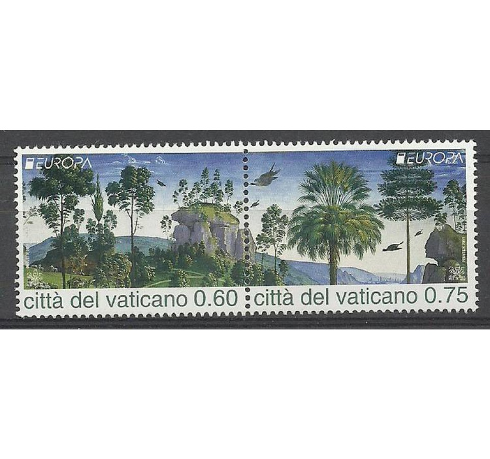 Watykan 2011 Mi 1710-1711 Czyste **
