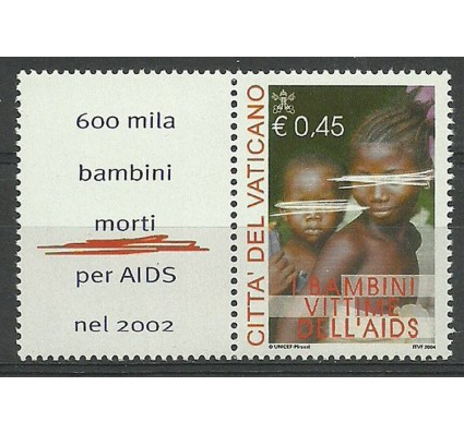 Znaczek Watykan 2004 Mi zf 1488 Czyste **