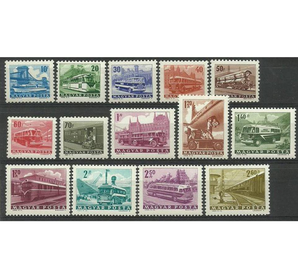 Węgry 1963 Mi 1924-1937 Czyste **