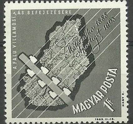 Znaczek Węgry 1963 Mi 1952 Czyste **