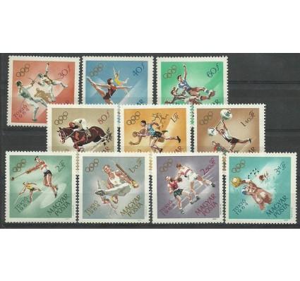 Znaczek Węgry 1964 Mi 2031-2040 Czyste **