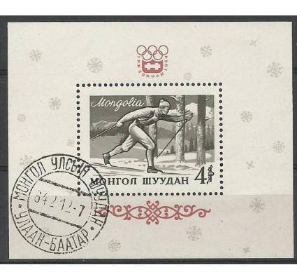 Znaczek Mongolia 1964 Mi bl 7 Stemplowane