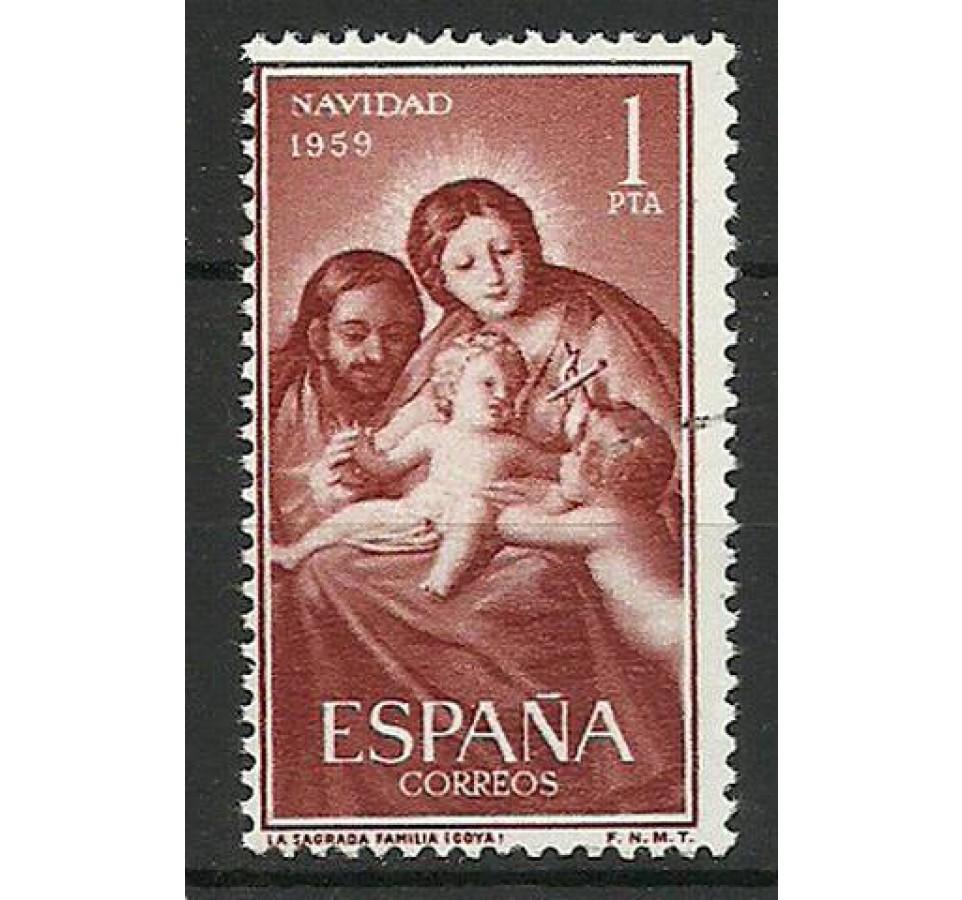 Hiszpania 1959 Mi 1150 Czyste **