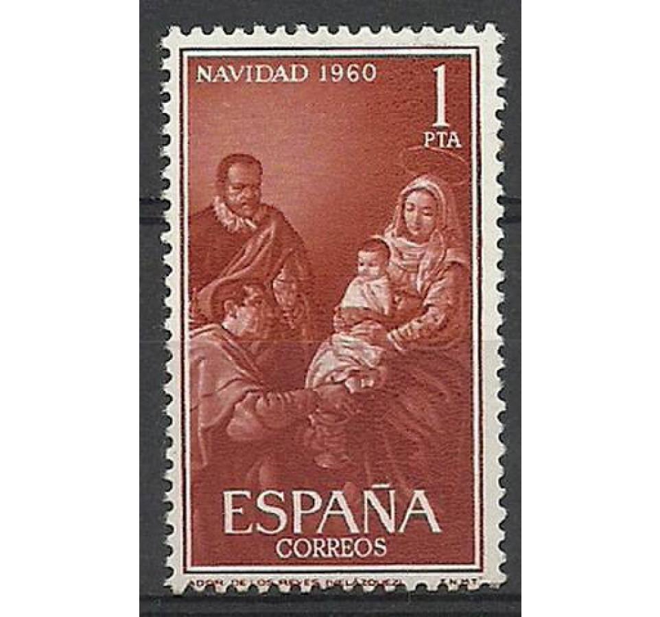 Hiszpania 1960 Mi 1220 Czyste **